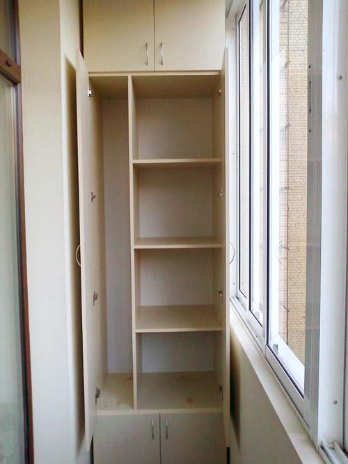 Шкаф на балкон defico - шкафы купе на заказ Челябинск.